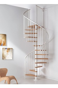 Spindeltreppe Oak 70