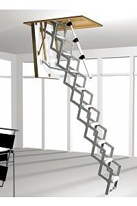 Bodentreppe Mini mit Scherentreppe