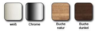 Holz- und Metallfarben Spindeltreppe Cube Line