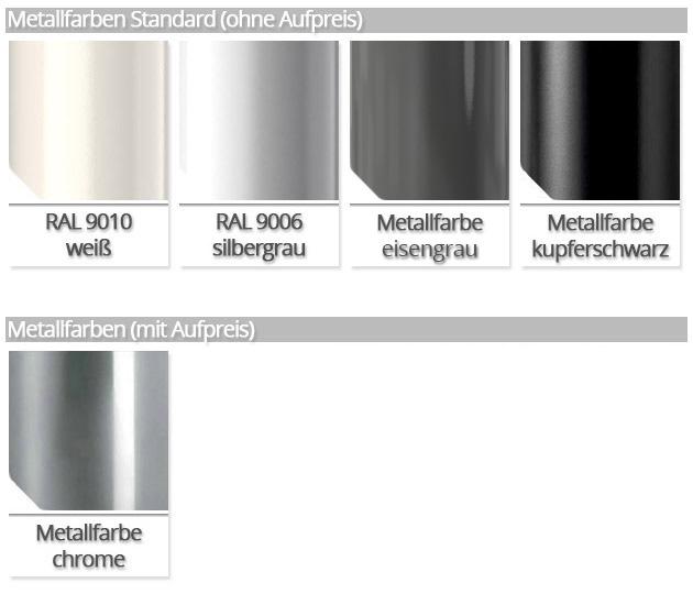 Metallfarben Mittelholmtreppe Genius RA