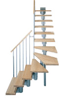Mittelholmtreppe Komoda 74 Details