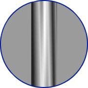 Metallfarbe chromatiert Mittelholmtreppe Pixima Mini Line