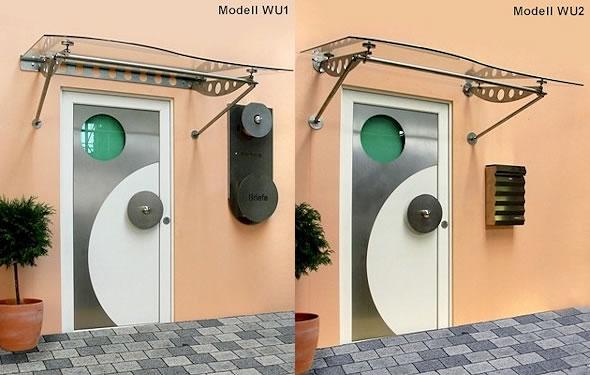Vordach Optoline - Modelle WU1 & WU2