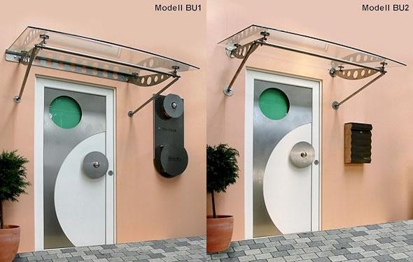 Vordach Optoline - Modelle BU1 & BU2