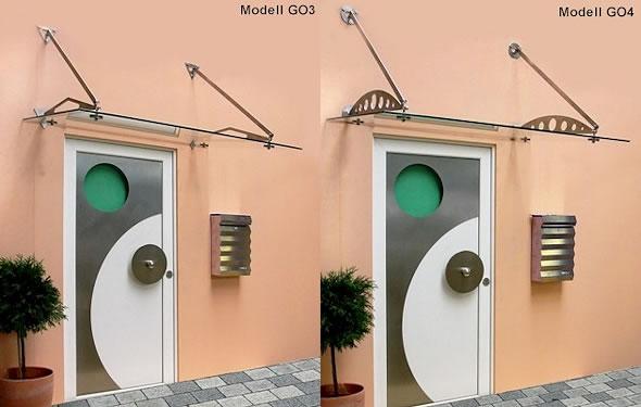 Vordach Optoline - Modelle GO3 & GO4