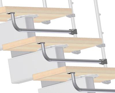 Kinderschutzbügel zur Verringerung des Abstands zwischen den Stufen