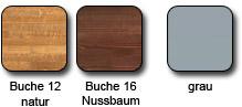 Holz- und Metallfarben Mittelholmtreppe Tech