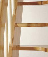 Wangentreppe Topstep mit Holzgeländer