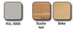 Holz- und Metallfarben Mittelholmtreppe Twister