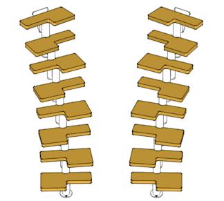 Mittelholmtreppe Venus02 geschwungene Treppenform